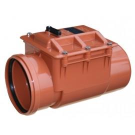 Clapeta antiretur  PVC 200 mm cu inchizator