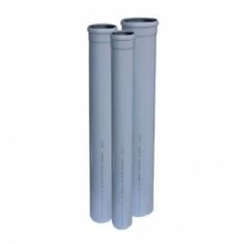 TEAVA PVC-110- L- 1000 CU MUFA SI GARNITURA PT CANALIZARE GRI,