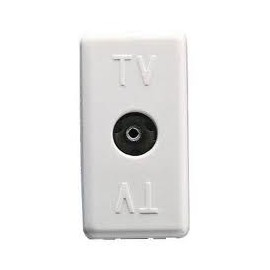 Priza TV directa, 0Db, conector mama IEC 9,5mm, System, Culoare