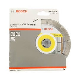 Disc diamantat bosch universal  125 mm