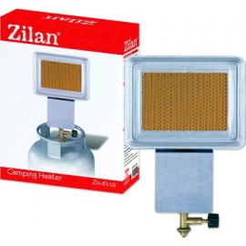 Incalzitor Soba Camping Cu Ceas ceramic cu GPL ZILAN ZLN-6119, Putere incalzire 1.5Kw, Consum gaz 110g/ora, Regulator inclus