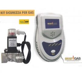 Detector de gaze cu electrovana SicurGAS 1- tol