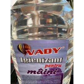 Igienizant Pentru Maini 5l Vady (Etanol 67% - Alcool Izopropilic 9% Si Glicerina)