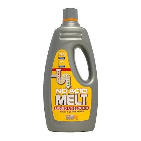 Melt este o solutie profesionala extrem de rapida pentru desfundat tevi.