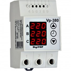 Releu protectie tensiune trifazat VP-380V 380179