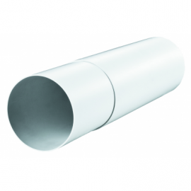 VENTS Tub telescopic PVC, diam 100mm, L 350-500mm