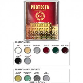 Vopsea Protectia texturata gri metalic 0,5 l