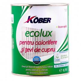 Email pe baza de apa ECOLUX pentru calorifere 0.75L Kober