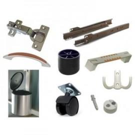 Feronerie si accesorii pentru mobilier